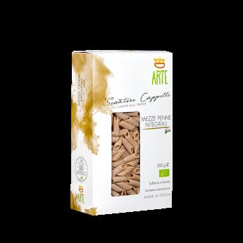 Mezze penne integrali - Pasta Senatore Cappelli - Arte Agricola