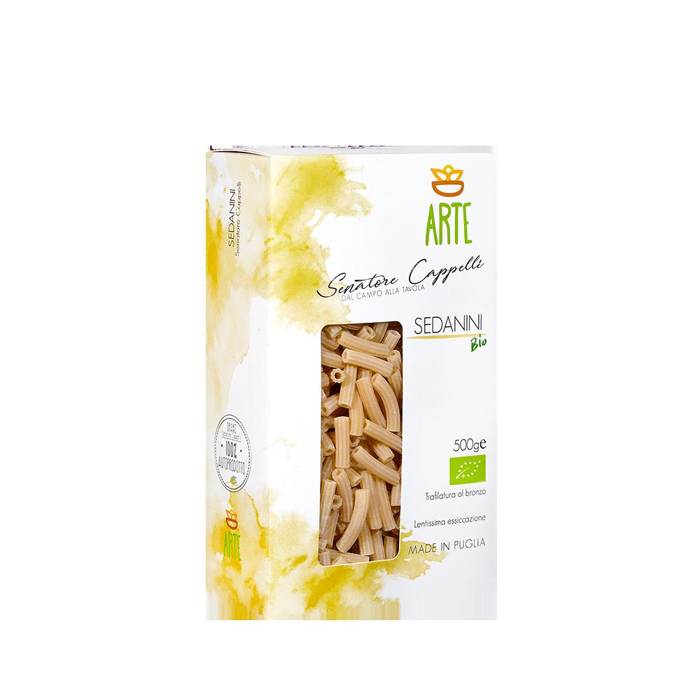 Sedanini - Pasta Senatore Cappelli - Arte Agricola