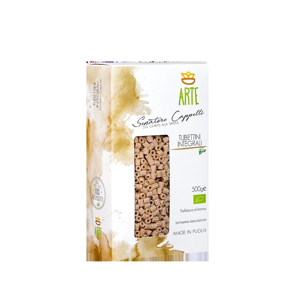 Tubettini integrali - Pasta Senatore Cappelli - Arte Agricola