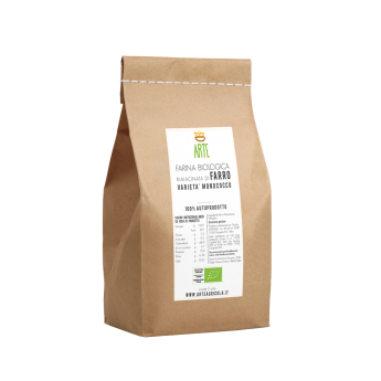 Farina di farro monococco - Farine e semole - Arte Agricola