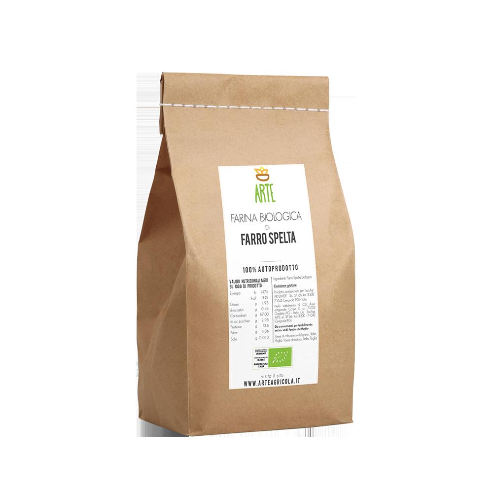 Farina di farro spelta - Farine e semole - Arte Agricola