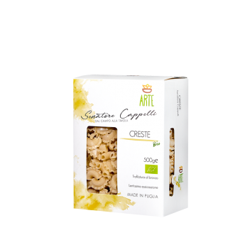 Creste - Pasta Senatore Cappelli - Arte Agricola
