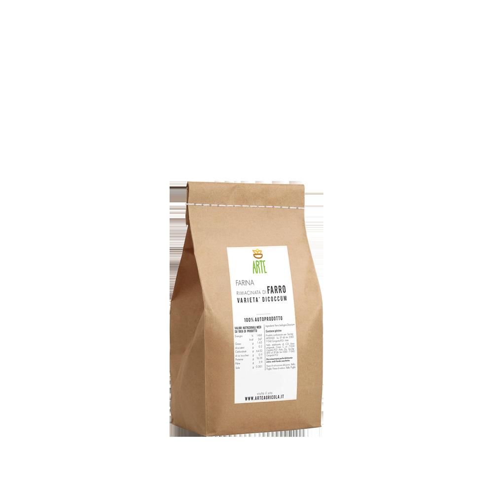 Farina di farro dicoccum - Farine e semole - Arte Agricola