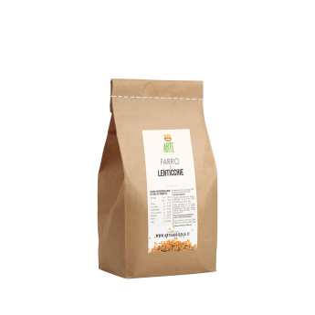 Farro e lenticchie - Creme e legumi - Arte Agricola
